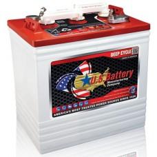 US Battery - US2200  - 6 Volt -  232Ah - Deep Cycle Flooded Lead Acid Battery (US2200XCUT)