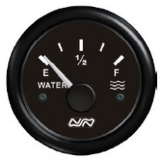 WATER Tank Gauge Only - 12V or 24V Systems -  Suits 150-400mm Sender Lengths - Nuova Rade (RWB8932)