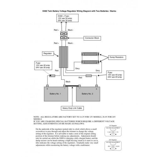 24 volt generator regulator wiring diagram regulator 24 volt to suit eclectic energy d400 wind generator  eclectic energy d400 wind generator