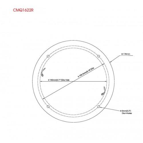clarion marine 6 5 inch - 100 watt