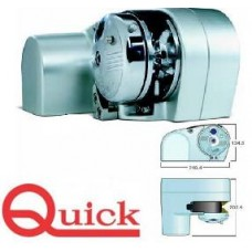 Quick Horizontal Free Fall Anchor Winch - Genius 1000F - 800W 12 Volt Motor - Suits Most Boats up to 10m (Rope and Chain Gypsy Combo) (FSGU1000F008A01)
