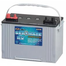 Deka Intimidator (Seamate) - 12 Volt - 105Ah - 800CCA - Dual Purpose Best AGM Battery (8A31DTM)