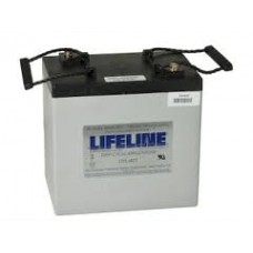 Lifeline GPL-4C - 6 Volt - 220Ah - 760CCA - DUAL Marine Starting/Cycling AGM Battery (GPL-4C)