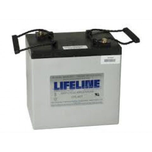 lifeline gpl 4c 6 volt 220ah 760cca marine deep. Black Bedroom Furniture Sets. Home Design Ideas