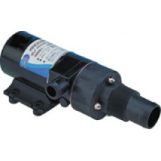 "Jabsco Toilet Macerator Pump -  24 Volt Pump   46LPM - Inlet 1 1/2"" male thread and 38mm hose - Outlet 25mm Hose - Jabsco 18590-2094 (J11-111)"