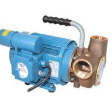 Jabsco 4000LPH Mains Power Utility Impeller Pump - 230 Volt - 38mm BSP Ports - For Waste Tank Pump Out - 53080-2063 (J40-144)