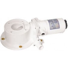 TMC Electric Toilet - Complete Motor and Macerator Base Set - 24 Volt - Suit TMC Electric Marine Toilet  - Just Bolt On (SP193)