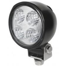 Hella Marine Module 70 (Gen 3) LED Deck Flood Light - Black Housing - 9-33VDC - 13W - 800 Lumens (1G0 996 176-722)