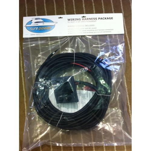Pleasing Diy Wiring Loom With 4 Switch Panel Suit Tinnies To 5M Incl Wiring 101 Hemtstreekradiomeanderfmnl