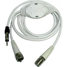 GME AM-FM / VHF Marine Radio Band Splitter - Use Your VHF Aerial as a AM/FM Aerial (SPL002)