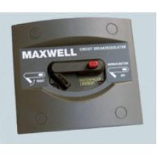 Maxwell 40Amp 12V or 24V Circuit Breaker Isolator Panel (P100789)
