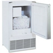 U-Line Marine Ice Maker WH95FC - WHITE - Makes up to 10.4Kg Ice per Day - Holds 5.4Kg Ice (493/WH95FC-20)