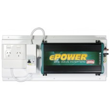 Enerdrive ePower True Sine-wave Inverter 12V DC to 240v AC - 1000 Watt -  With GPO and RCD (RCD-GPO-EP1000W)