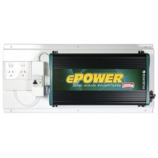Enerdrive ePower True Sine-wave Inverter 12V DC to 240v AC - 2000 Watt -  With GPO and RCD (RCD-GPO-EP2000W)